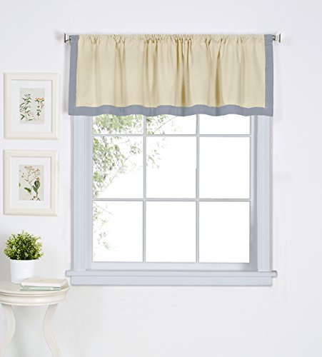 Elrene Home Fashions Wilton Window Valance, 60