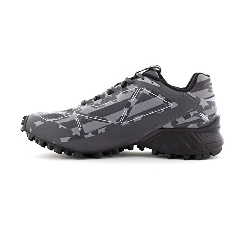 Boombah Mens Hellcat Trail Shoe - 14 Color Options - Multiple Sizes Black/Charcoal/Gray yD5jmodwod