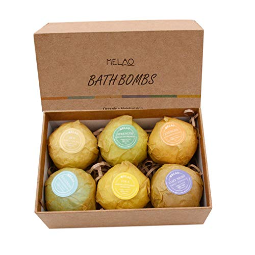 - SuperThinker Bath Bombs Gift Set of 6, Rich in Natural Fizzies, Shea & Essential Oils for Bubble & Spa Bath to Moisturize Dry Skin. Best Gift Idea for Women, Girl, Men, Him(6pack/Set)