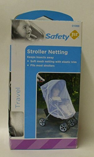 Stroller Netting #01099 Fits Most Strollers, by Safety 1st ()