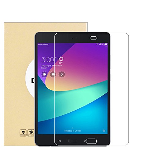 KTTWO Verizon ASUS ZenPad Z8s Screen Protector Glass, Full Screen Coverage Anti-Scratch Bubble-Free 9H HD Tempered Glass Screen Protector with Full Glue for Verizon ASUS ZenPad Z8s 7.9 inch Tablet