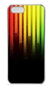 iPhone 5 5S Case Music Background 3 PC Custom iPhone 5 5S Case Cover Transparent