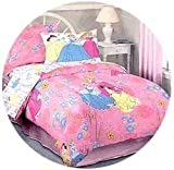 DISNEY Princesses - Bed Sheet Set - Twin/Single Size