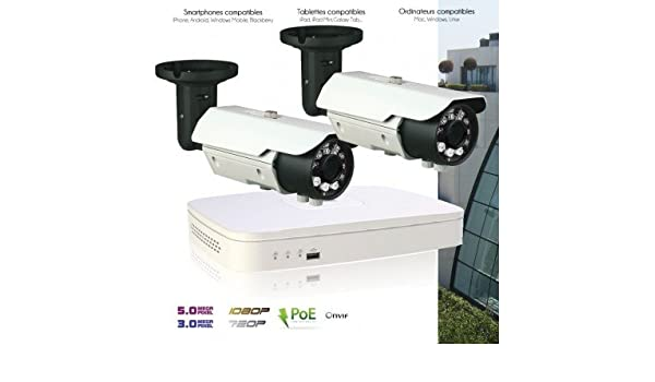 DVR Dahua - Sistema de Video Vigilancia IP con 2 Cámaras IP 3 MP exteriores - kit-d158 - 2 x 2086 - Disco duro de 2 TB: Amazon.es: Bricolaje y herramientas