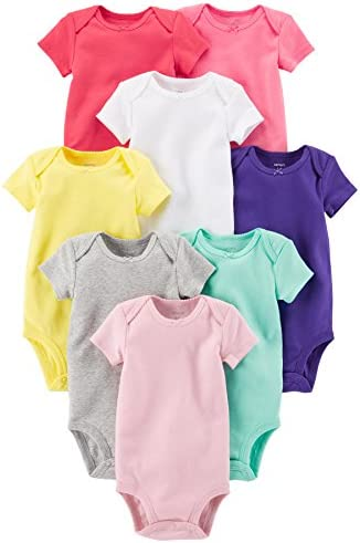 Carters Girls Short Sleeve Bodysuits product image