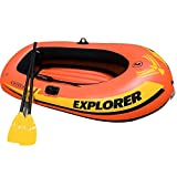 QERNTPEY-ST Kayak Explorer Two Or Three Inflatable Boat Group Fishing Boat Thickening Kayak Inflatable Boat Hovercraft Kayak Canoe with Paddle Water Sports