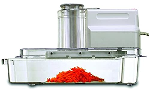 GForce GF-P1158-572 Electric Mandolin Vegetable Slicer 3-Chute and Pusher With Blades – Finally a Safe Mandoline!