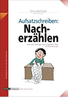 Nacherzählung Stundenbilder Aufsatz Grundschule Amazonde