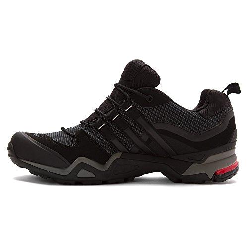 adidas Terrex Fast X Hiking Shoes Mens Carbon / Black / Light Scarlet iAadQk
