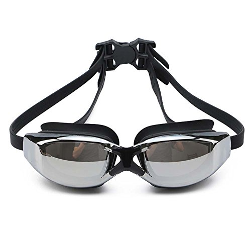 Swim Goggles, Swimming Goggles No Leaking Anti Fog UV Protection Triathlon Swim Goggles with Free Protection Case for Adult Men Women Youth Kids Child - Triathlon Goggles Best