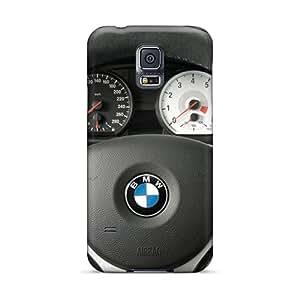 Excellent Design Bmw Concept 1 Series Steering Wheel Phone Case For Galaxy S5 Premium Tpu Case