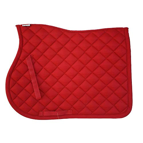 Lami-Cell Basic All Purpose Saddle Pad Red