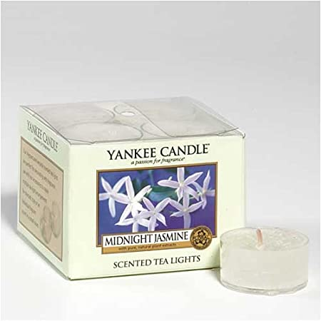 Box of 12 Tea Lights Midnight Jasmine