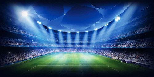 Large Soccer Field 20' x 10' CP Backdrop Computer Printed Scenic Background GladsBuy Backdrop ACP-53 by GladsBuy