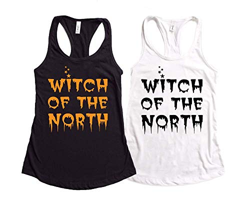 Halloween Tank Top Witch of The North Funny Halloween Tank Top Halloween Witch Tank Top Women's Halloween Tank Party Tank Tops -