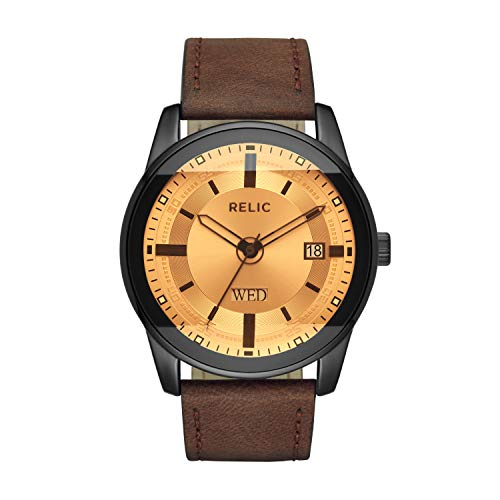 Relic by Fossil Men's Everet Quartz Metal Sport Watch