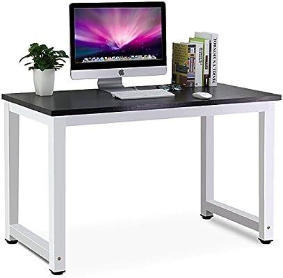 Simple Computer Desk PC Laptop Table Workstation Study Home Office Furniture UK