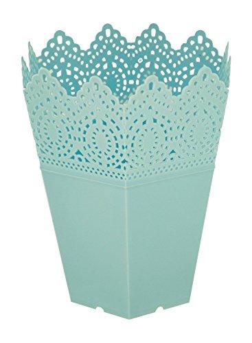 Kole Imports GC666 Decorative Hexagonal Multi-Use Flower Pot by Kole Imports