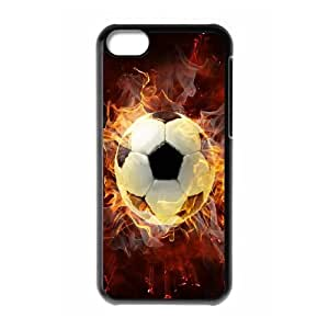 High Quality {YUXUAN-LARA CASE}Love Sports - Football For Iphone 5c STYLE-17