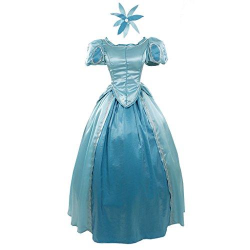 Custom Made Little Mermaid Costumes (CosplayDiy Women's Dress for The Little Mermaid Ariel Princess Cosplay CM)