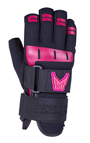 Ho Women's World Cup 3/4 Glove Black/Pink (M)