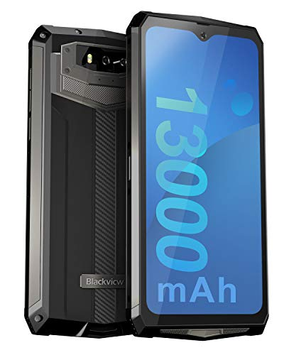 Unlocked Rugged Smartphones, Blackview BV9100 4G LTE 13000mAh Battery Rugged Cell Phones Android 9.0 IP68 Waterproof…