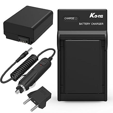 coolshow FW50 batería cargador combinación: Amazon.es: Hogar
