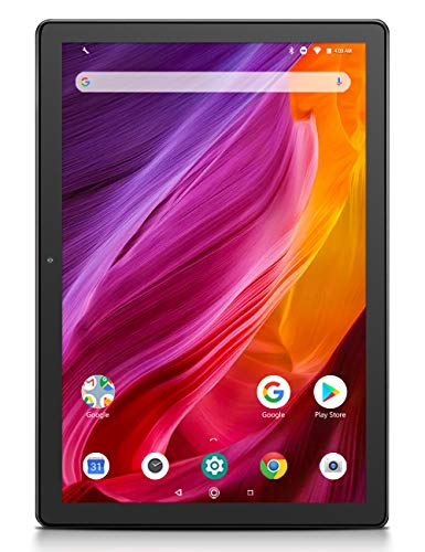 Dragon Touch K10 Tablet, 10 inch Android Tablet with 16 GB Quad Core Processor, 1280×800 IPS HD Display, Micro HDMI, GPS…