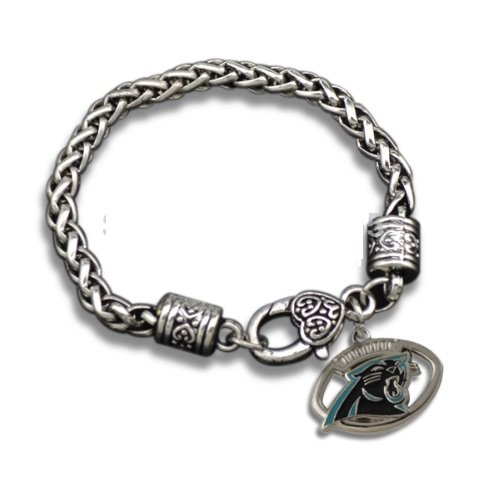 Infinity Collection Panthers Charm bracelet