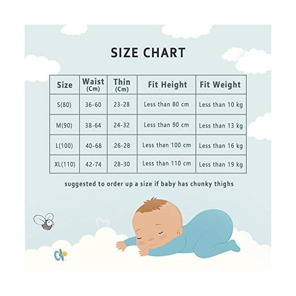 HBselect 4 Pezzi Mutandine di Apprendimento Intimo per Bambini Riutilizzabile Igiene Neonato WC Bambini Apprendimento… 4