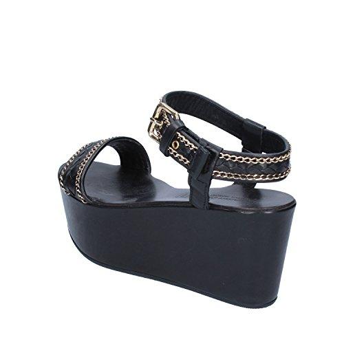 Femme Sandales D'essai Manufacture Pour Noir qOt11wAanz