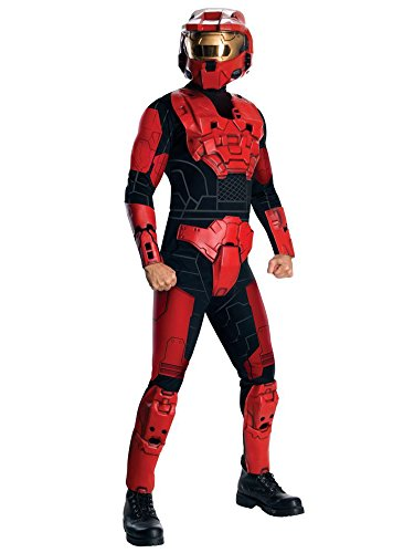 Halo Deluxe Red Spartan Costume for Adults -