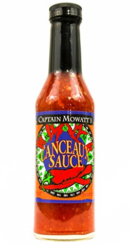 Captain Buffalo - CAPTAIN MOWATTS Canceaux Hot Sauce, 8 OZ