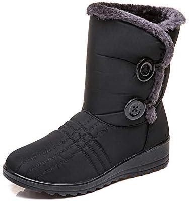 スノーブーツ メンズ レディース 厚底 ムートンブーツ ショート ブーツ スノーシューズ 綿靴 雪靴 サイドゴア ウィンターブーツ 防滑 保暖 裏起毛 冬用 カジュアル アウトドア