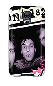 Hot Design Premium SSRyuWW2104UbxCM Case Cover Galaxy S5 Protection Case(blink 182 High Resolution )