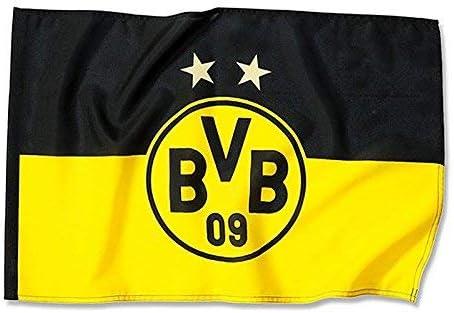 150x100 Borussia Dortmund,Drapeau du balcon noir-jaune