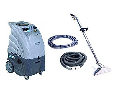 Sandia Extractor, Hot and Cold Water Carpet Cleaner, 80-2100-H Dual 2 Stage Vacuum Motor with a Commercial Sniper Industrial Product Bundle