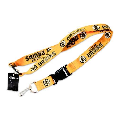 Aminco Boston Bruins Clip Lanyard Keychain Id Ticket Holder - (Ticket Boston Bruins Ticket)