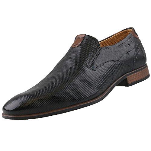 Loafers 1000 Schwarz Black Men's 312231604000 1000 Black Bugatti Black E7qwCC8