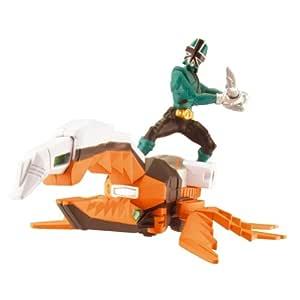 Power Rangers Super Samurai - Zord escarabajo, color verde
