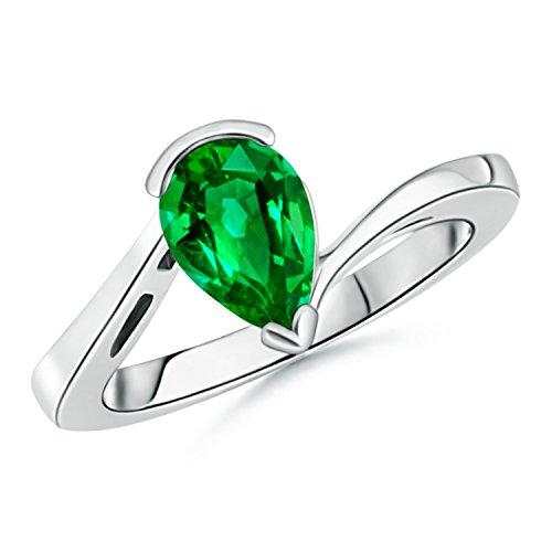 9x7mm Emerald - 9