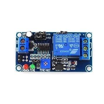 V PowerOFF Delay Relay Module Delay Circuit Module Amazonco - Power off relay
