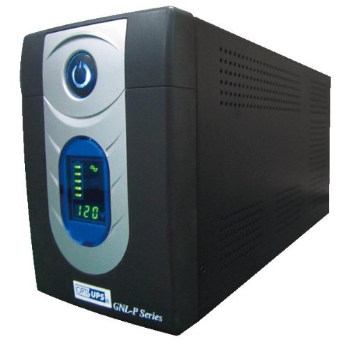 - Opti-UPS UPS GNL1500P (1500VA / 900W) 1050 Joules Line Interactive Uninterruptable Power Supply, LCD, USB (4 Battery Backup / 2 Surge outlets) 2 Internal Batteries