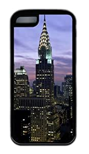Customized Case Landscapes 1 TPU Black for Apple iPhone 5C