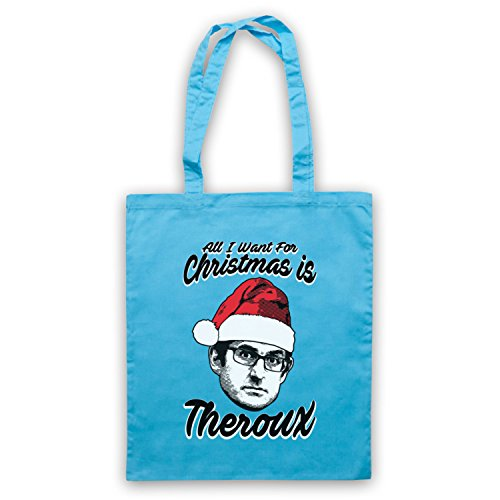 Louis Theroux All I Want For Christmas Is Theroux Bolso Azul Cielo