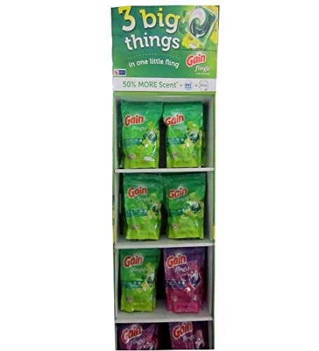 Gain Flings Laundry Detergent Asst 35ct, Case of 16 by DollarItemDirect