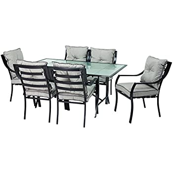 Amazon Com Statesville 5 Piece Padded Sling Patio Dining