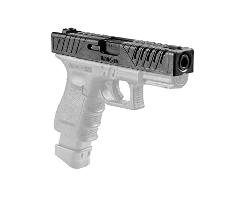 amazon com tactic skin 19 fab defense glock 19 slide cover black