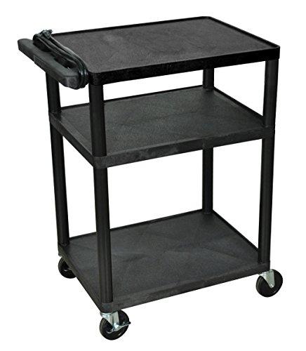 LUXOR LP34E-B Presentation Cart, 18