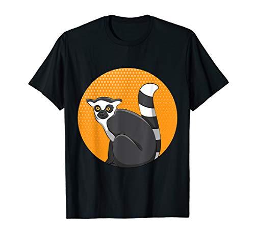 Lemur Monkey Shirt Funny Cute Sifakas Madagascar Love Tee
